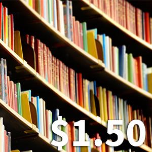 Sale: $1.25 Books