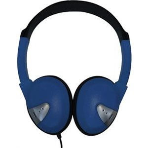 Avid Products Lightweight On-Ear Headphones-Blue