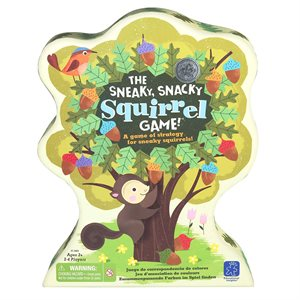 The Sneaky, Snacky Squirrel Game!®