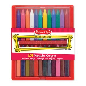 Triangular Crayons Set of 24
