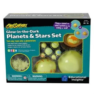 GeoSafari® Glow-in-the-Dark Planets & Starts Set