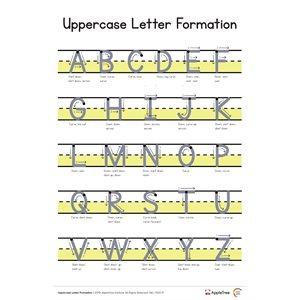 Uppercase Letter Formation