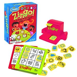 Spanish English Zingo! Game