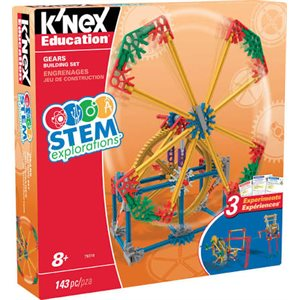 STEM EXPLORATIONS    GEARS BUILDING SET