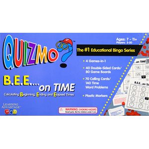 B.E.E. …on Time QUIZMO®