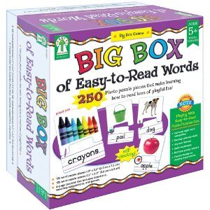 Big Box of Easy-to-Read Words