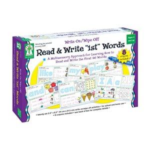 "Write On / Wipe Off Read & Write ""1st"" Words"