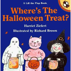 Where's the Halloween Treat? (Lift-the-flap Books)