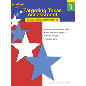 Targeting Texas Assessment Reproducible Grade 3