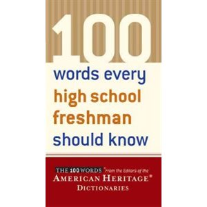 100 Words Every High School Freshman Should Know