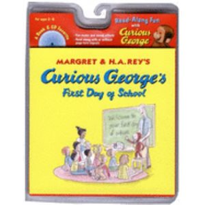 Curious George's First Day of School Book & CD