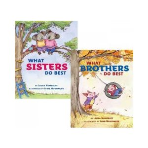 What Sisters Do Best / What Brothers Do Best A Flip Book