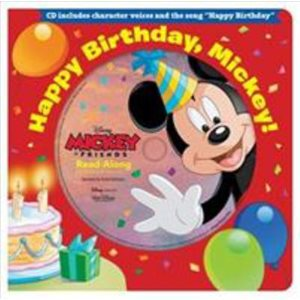 Happy Birthday, Mickey! Board Book and CD