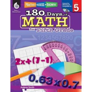 Practice, Assess, Diagnose 180 Days of Math for Grade 5