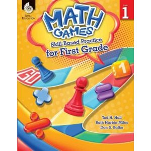 Math Games: Skill-Based Practice for First Grade