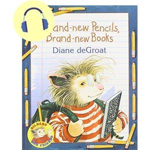 Brand-new Pencils, Brand-new Books Cd / Book