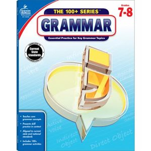 Grammar, Grades 7 - 8 Essential Practice for Key Grammar Topics