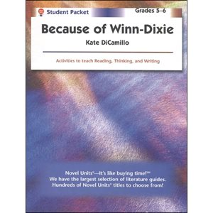 Because of Winn Dixie Student Pack SP7071