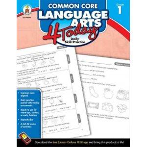 Common Core Language Arts 4 Today, Grade 1 Daily Skill Practice