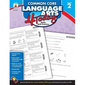 Common Core Language Arts 4 Today, Grade 2 Daily Skill Practice