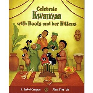 Celebra Kwanzaa con Botitas y sus gatitos (Celebrate Kwanzaa With Boots And Her Kittens)