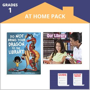 First Grade At Home Pack 1 Library