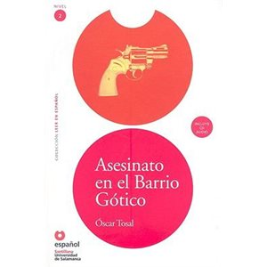 Asesinato en el Barrio Gótico (Murder in the Gothic Quarter (Book + CD))