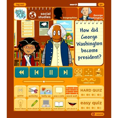 BrainPOP Jr. (12-month classroom subscription)