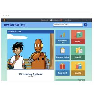 BrainPOP ELL 12 month Teacher Subscription