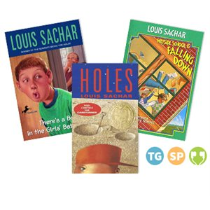 Sachar Author Study with Classroom Add-Ons (9 Books)