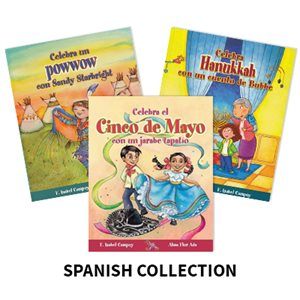 Alma Flor Ada Stories to Celebrate (5 Books) Spanish