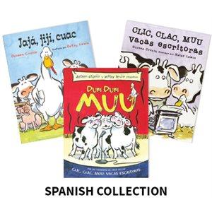 Doreen Cronin Author Study (4 Books) Spanish