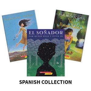 Pam Munoz Ryan Author Study (3 Books) Spanish