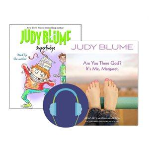 Audiobook Author Study: Judy Blume
