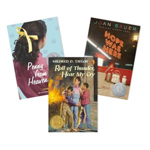 Newbery Award and Honor Winners - Family (4 Bk Set)
