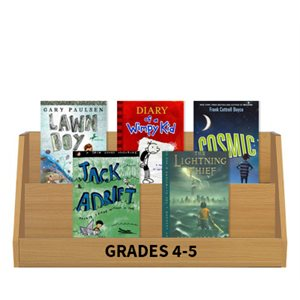 Books Featuring Boys - Grades 4-5 (10 books)