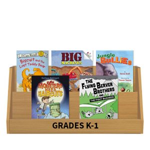 Books Featuring Boys - Grades K-1 (10 books)