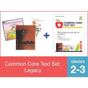 Common Core Text Set: Legacy (19 Bk Set)