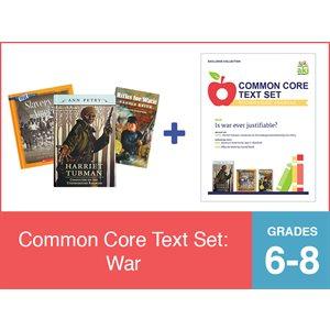 Common Core Text Set: War (19 Bk Set)