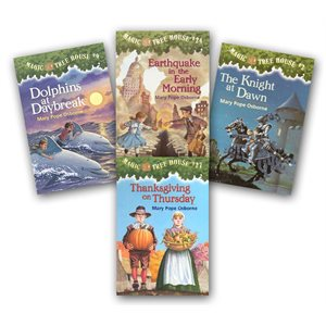 The Magic Tree House: Without Research Guides (28 Bk Set)