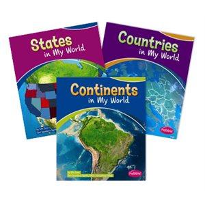 Pebble Guides: My World (6 Bk Set)