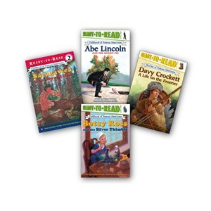 Ready-to-Read Childhoods of Famous Americans (10 Bk Set)