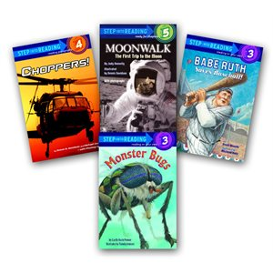 Step Into Reading: Nonfiction (50 Bk Set)