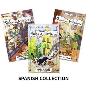 Gatos  Detectives (Cat Detectives) (4 Books)