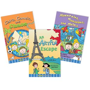 World Adventure Travel Chapter Books (10 Books)