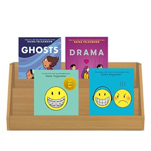 Favorite Author Study - Raina Telgemeier (4 Books)