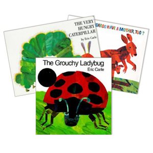 Favorite Author Study - Eric Carle (4 Bk Set)