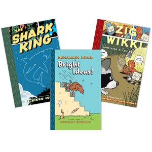 TOON Books Levels 1-3 (8 Books)