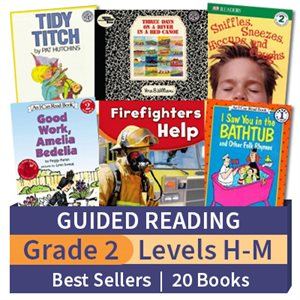 Guided Reading Collection: Grade 2 Best Sellers (20 books)