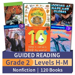 Guided Reading Collection: Grade 2 Nonfiction (120 books)